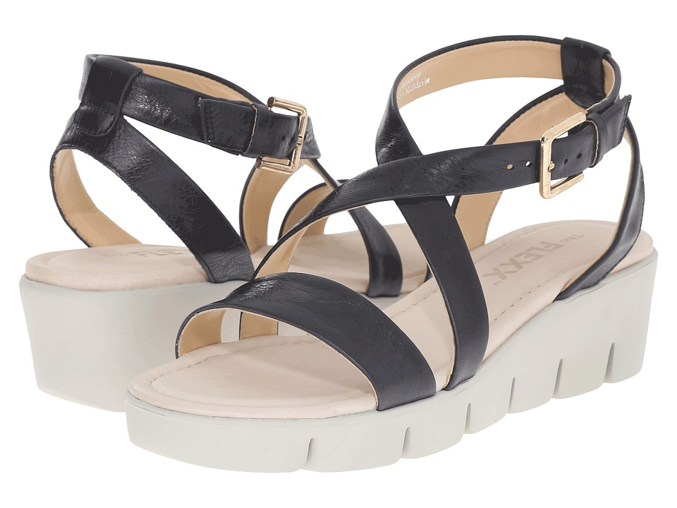 The FLEXX - Strap Em In (Black Skipper) Women's Shoes