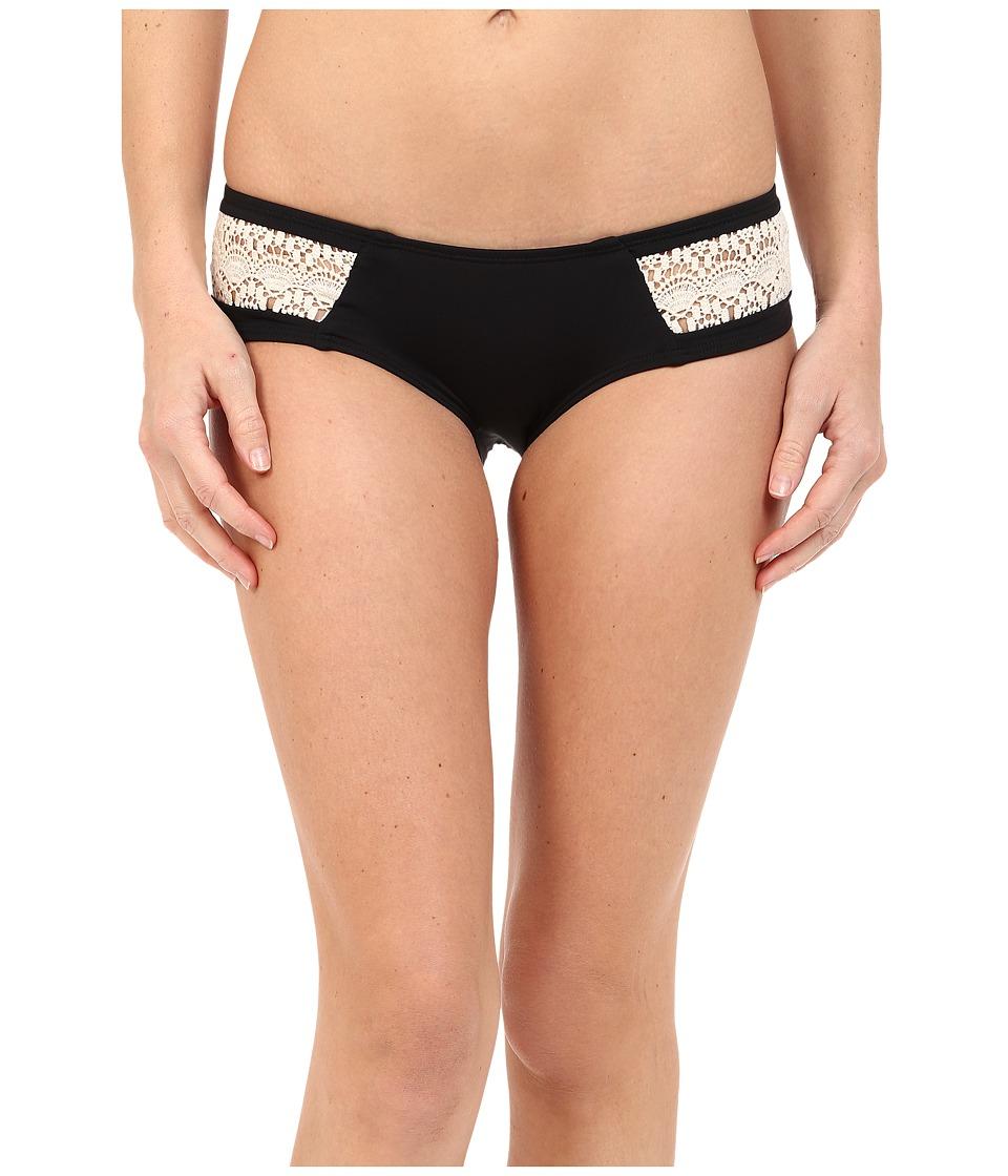 L*Space - Sweet Chic Twilight Bottoms (Black) Women's Swimwear