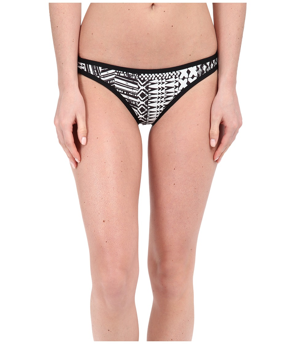 L*Space Ivory Coast Cosmo Itsy Bottoms (Black) Women