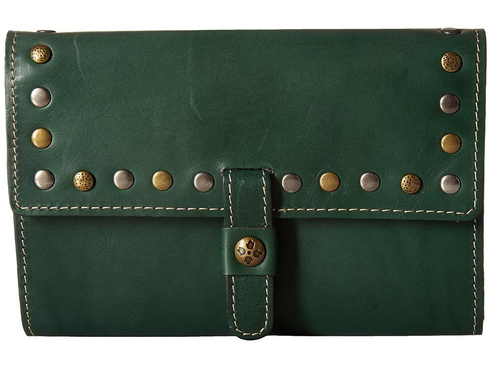 Patricia Nash - Oil Rub Colli Wallet (Antique Green) Wallet Handbags