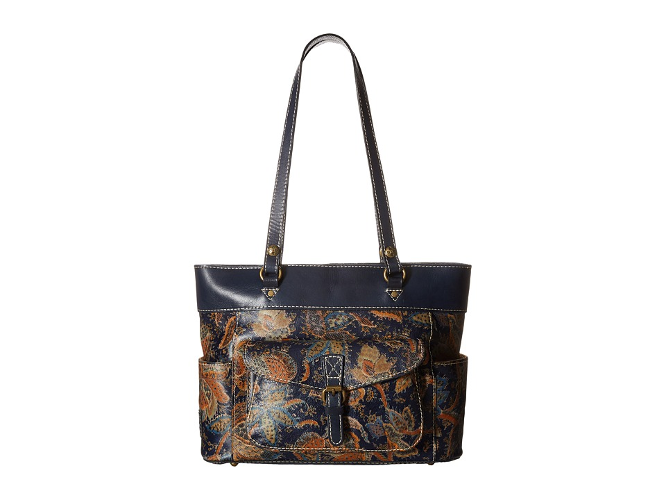 Patricia Nash - Bolsena Top Zip Tote (Needlepoint) Tote Handbags