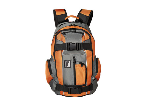FUL - Overton Backpack (Orange) Backpack Bags