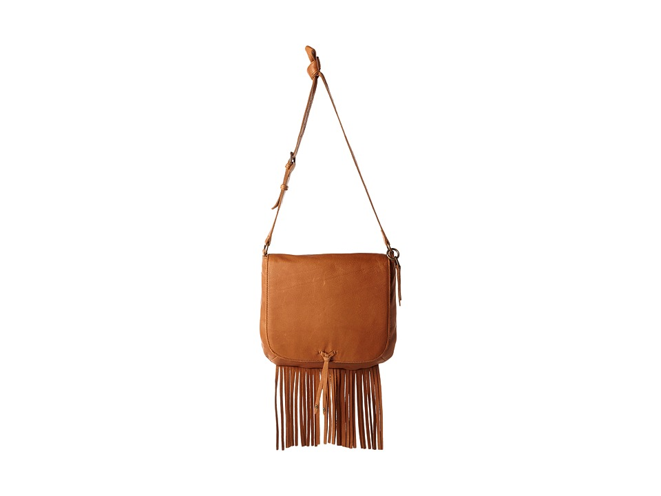 Lucky Brand - Kyle Flap Crossbody (Tobacco) Cross Body Handbags