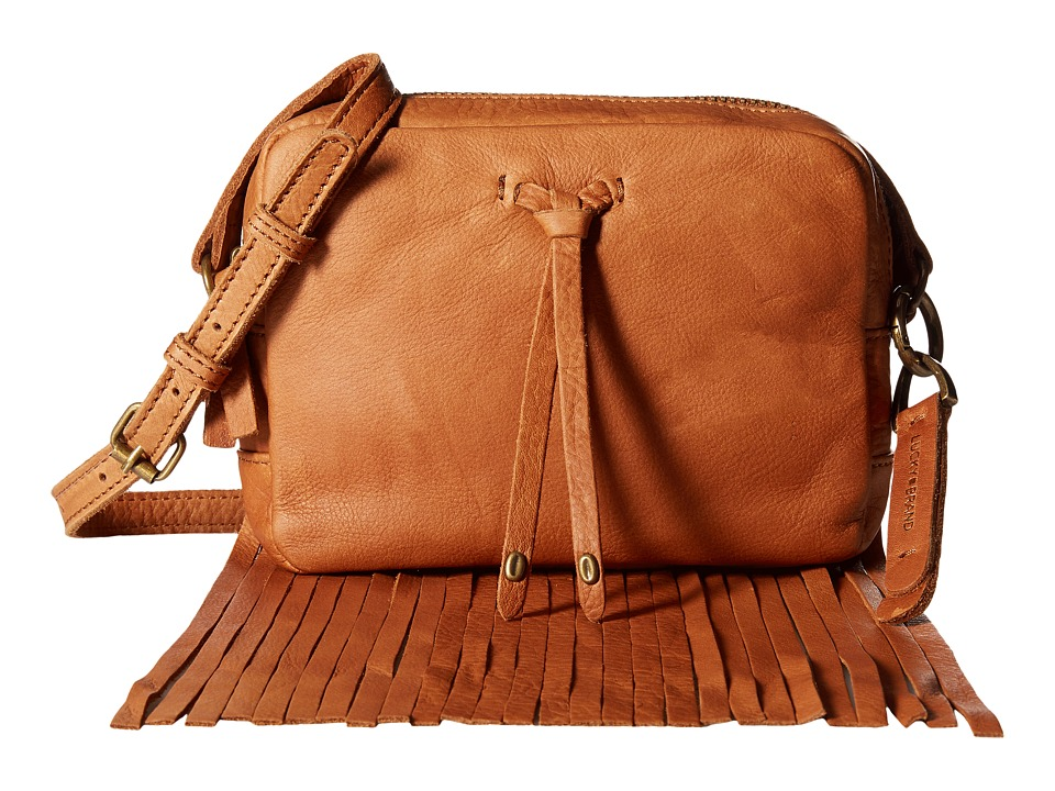 Lucky Brand - Kyle Mini Crossbody (Tobacco) Cross Body Handbags
