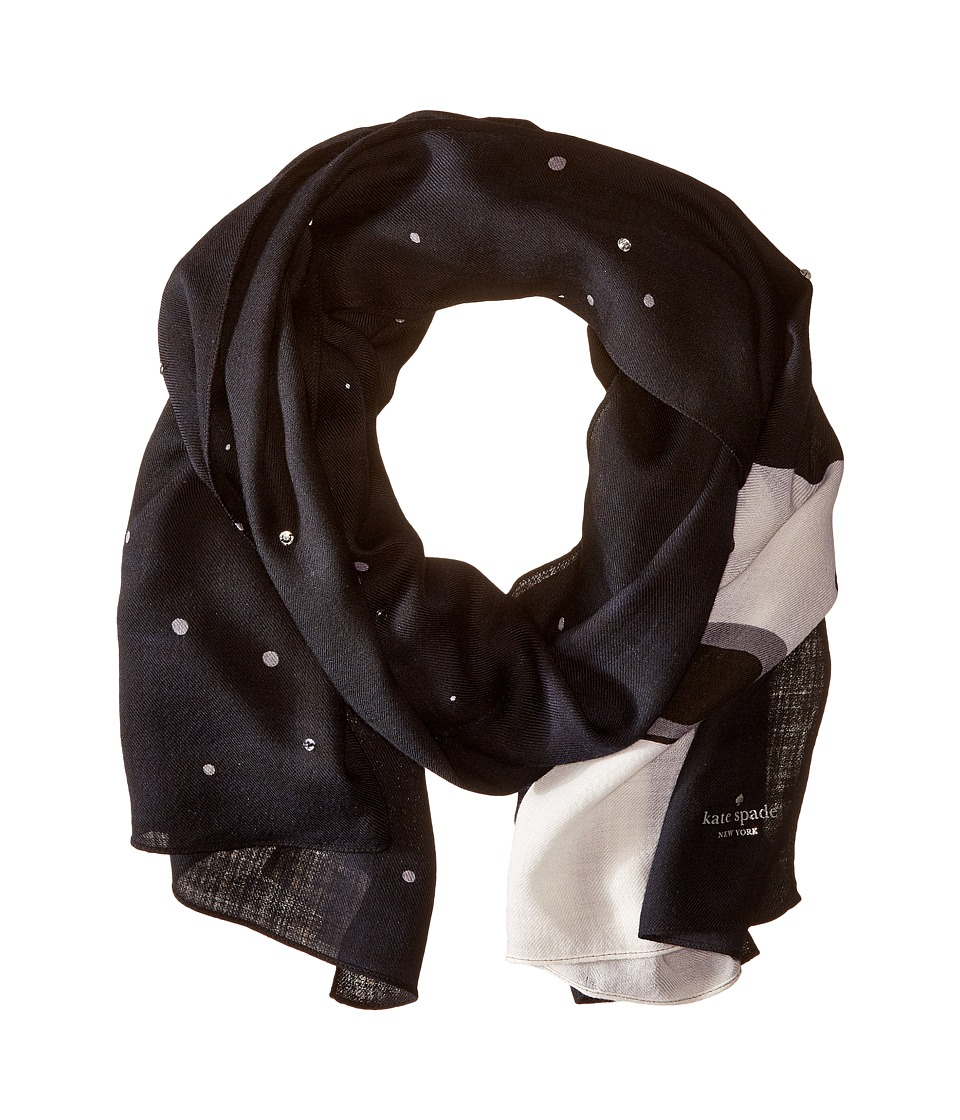Kate Spade New York - Polar Bear Scarf (Rich Navy) Scarves