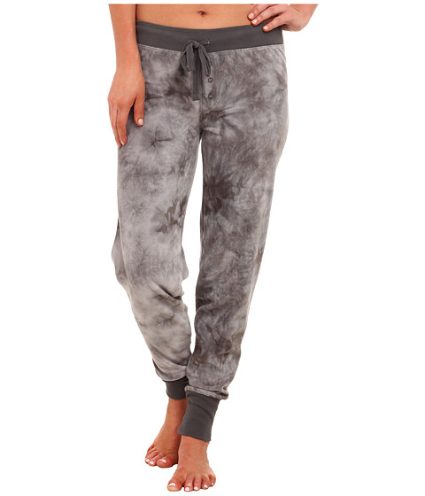 P.J. Salvage - Tie-Dye Jammies Lounge Pants (Grey) Women's Pajama