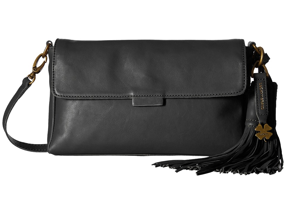 Lucky Brand - Jordan Clutch (Black) Clutch Handbags