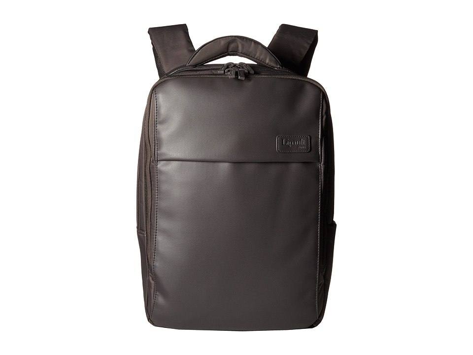 Lipault Paris - Premium Collection - 15 Computer Backpack (Grey) Backpack Bags