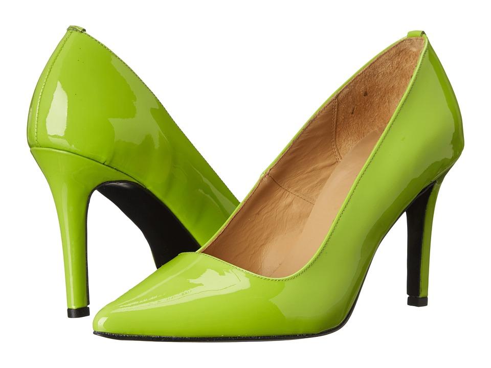 Massimo Matteo - Patent Leather Pump (Acid) Women's Shoes