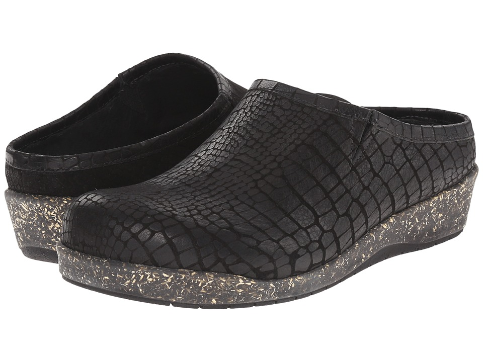 Walking Cradles - Alex (Black Croc) Women