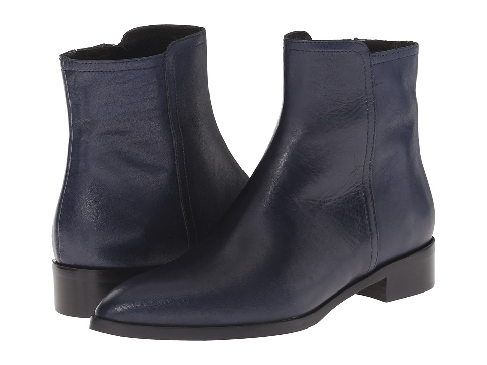 Massimo Matteo - Side Zip Ankle Boot (Jeans) Women's Zip Boots