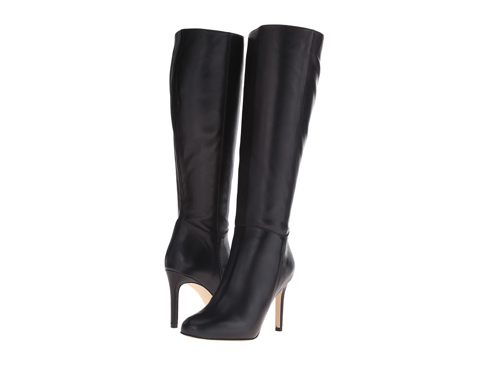 Massimo Matteo - Side Zip Knee Boot (Black) Women's Zip Boots