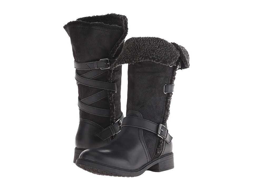 Report - Heddy (Black) Women's Zip Boots