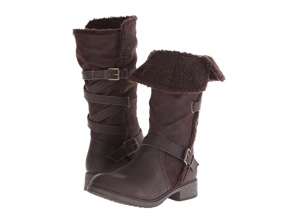 Report - Heddy (Brown) Women's Zip Boots