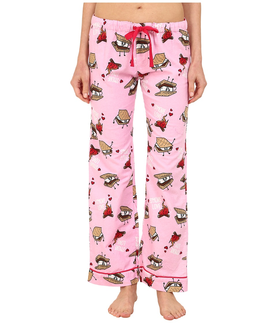 P.J. Salvage - Smore Flannel Sleep Pants (Pink) Women's Pajama