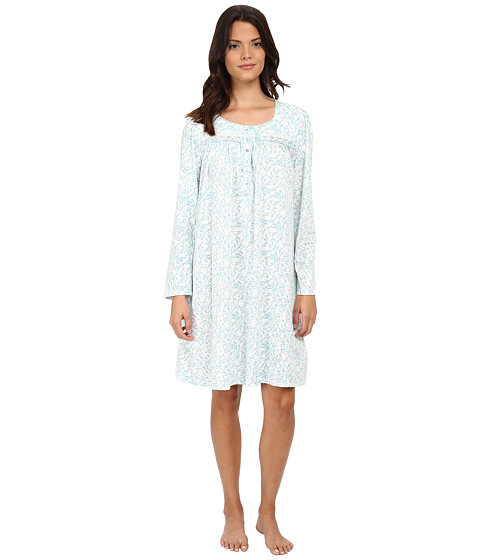 Eileen West - Short Nightgown (Blue/Aqua) Women