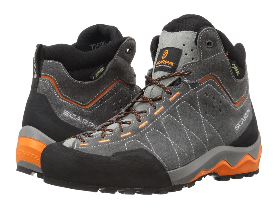 Scarpa - Tech Ascent GTX (Shark/Tonic) Men's Shoes