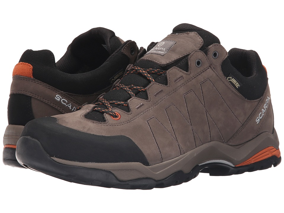 Scarpa - Moraine Plus GTX (Charcoal/Mango) Men's Shoes