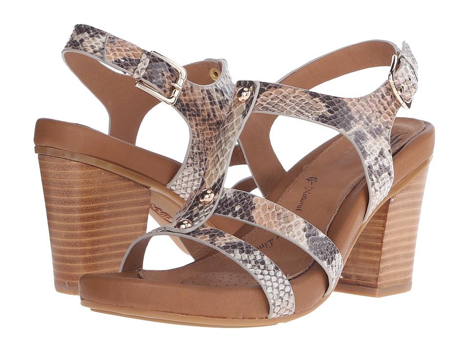 Sofft - Deidra (Tan Snake Print) High Heels