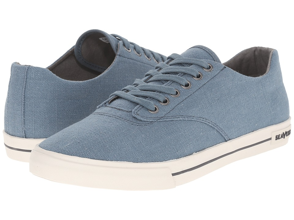 SeaVees - 08/63 Hermosa Plimsoll Standard (Indian Teal) Men's Shoes