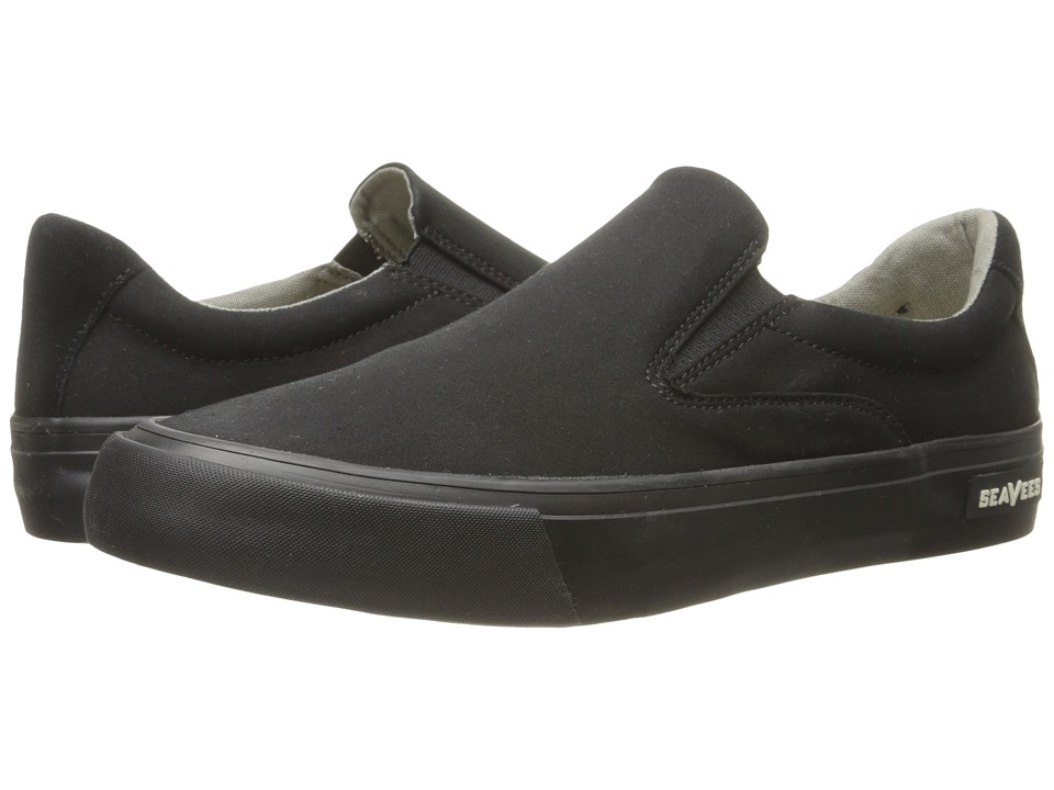 SeaVees - 05/66 Hawthorne Slip-On Standard (Black) Men's Shoes