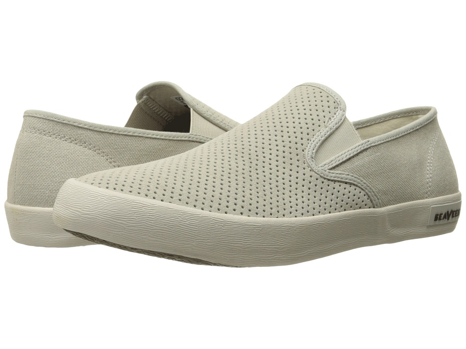 SeaVees - 02/64 Baja Slip-On Biltmore (Pumice Perforated Suede/Hemp) Men