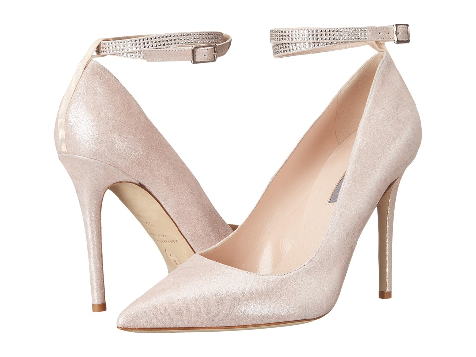SJP by Sarah Jessica Parker - Aventura (Ula Pink Suede) Women's Shoes