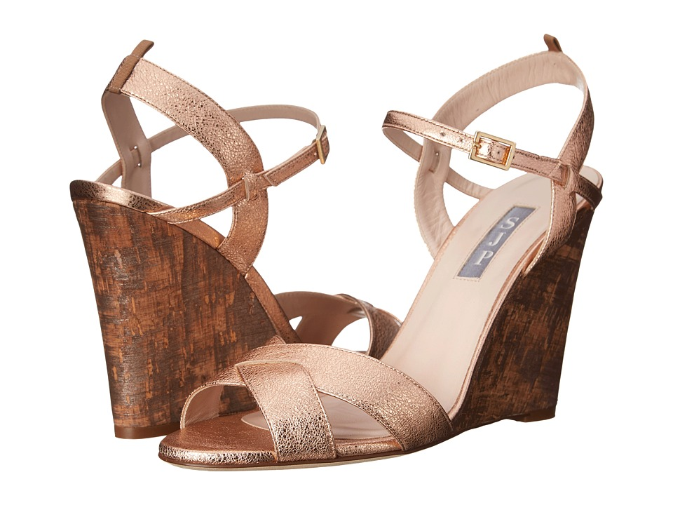 SJP by Sarah Jessica Parker - Davies (Merry Go Round Leather) Women's Wedge Shoes