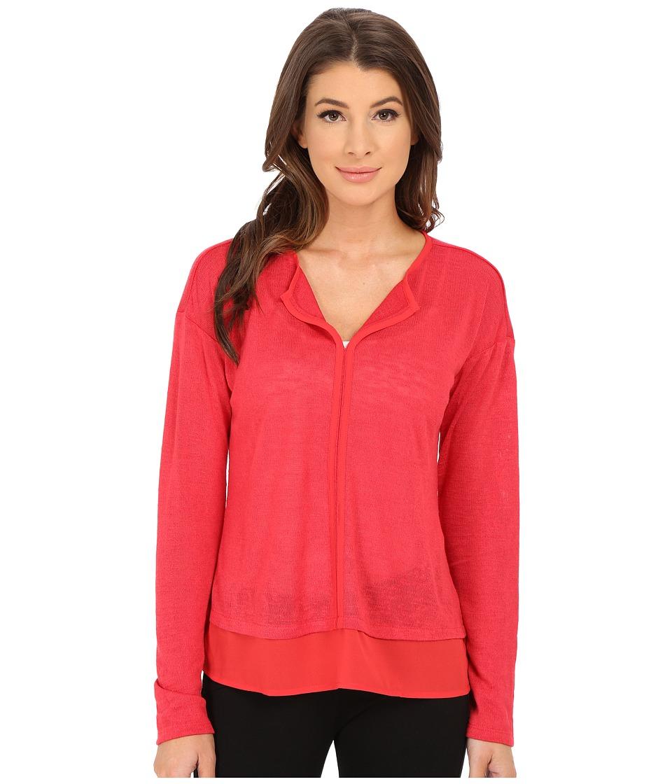 Sanctuary - Hanna Tee (Paisley Red) Women's T Shirt