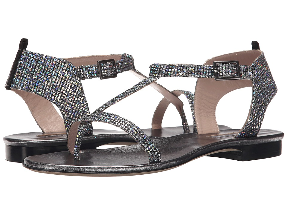SJP by Sarah Jessica Parker - Veronika (Silver Scintillate) Women's Flat Shoes