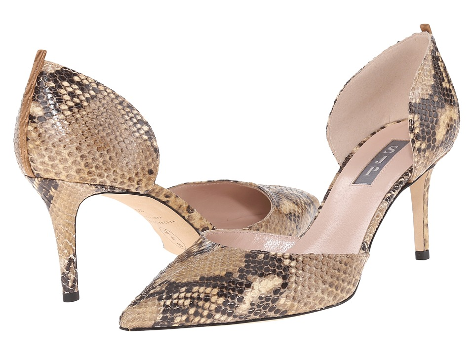 SJP by Sarah Jessica Parker - Eliza (Loan Print Snake Leather) Women's Shoes