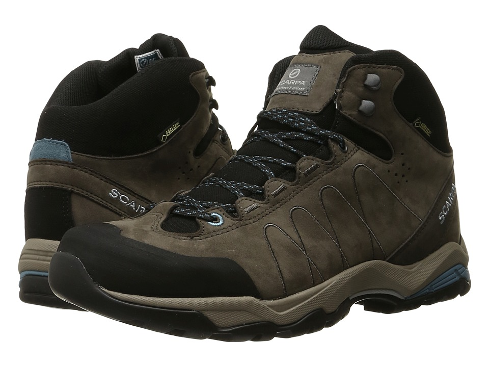 Scarpa - Moraine Plus Mid GTX (Charcoal/Air) Women's Shoes