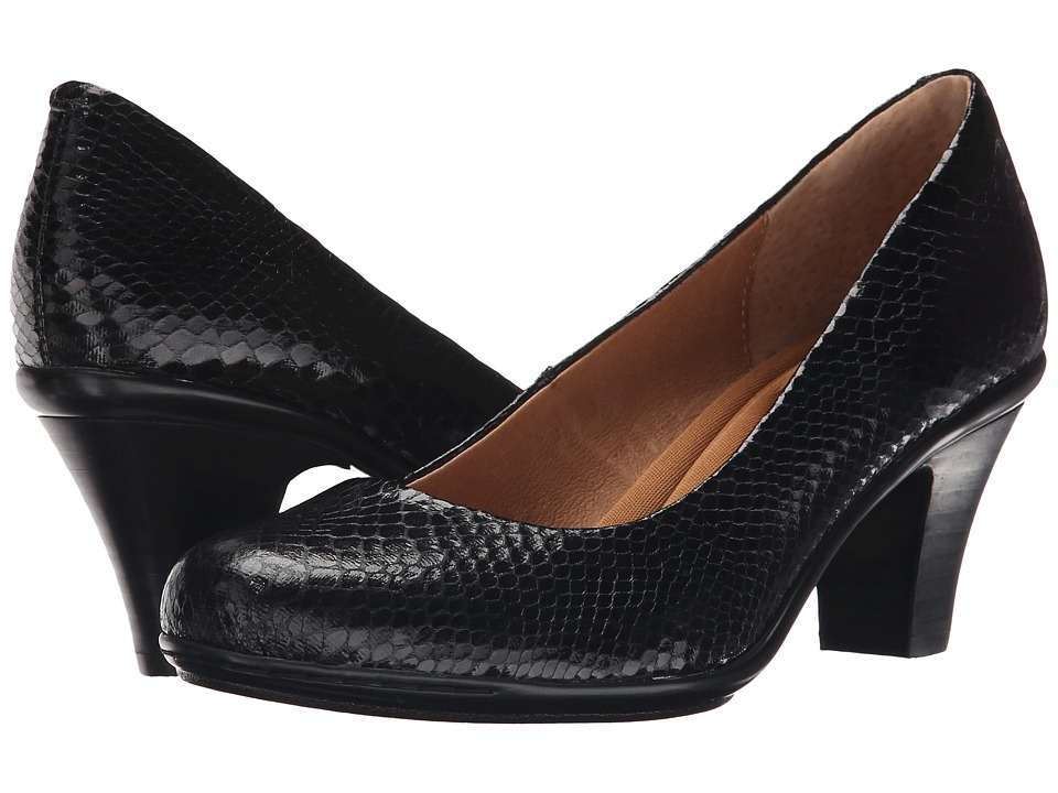Sofft - Velma (Black Snake Print) High Heels