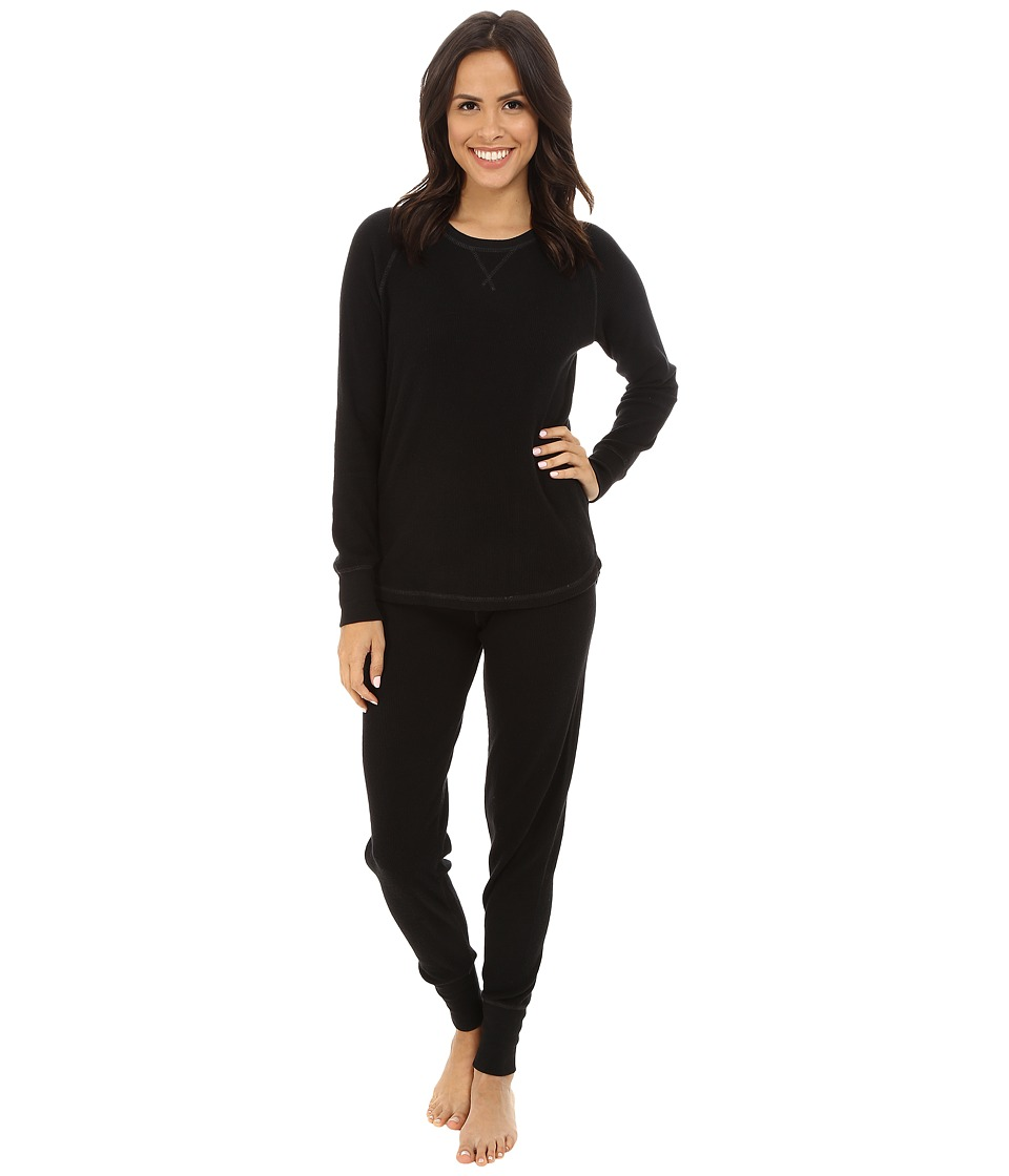 P.J. Salvage - Ski Jammies Set (Black) Women's Pajama Sets