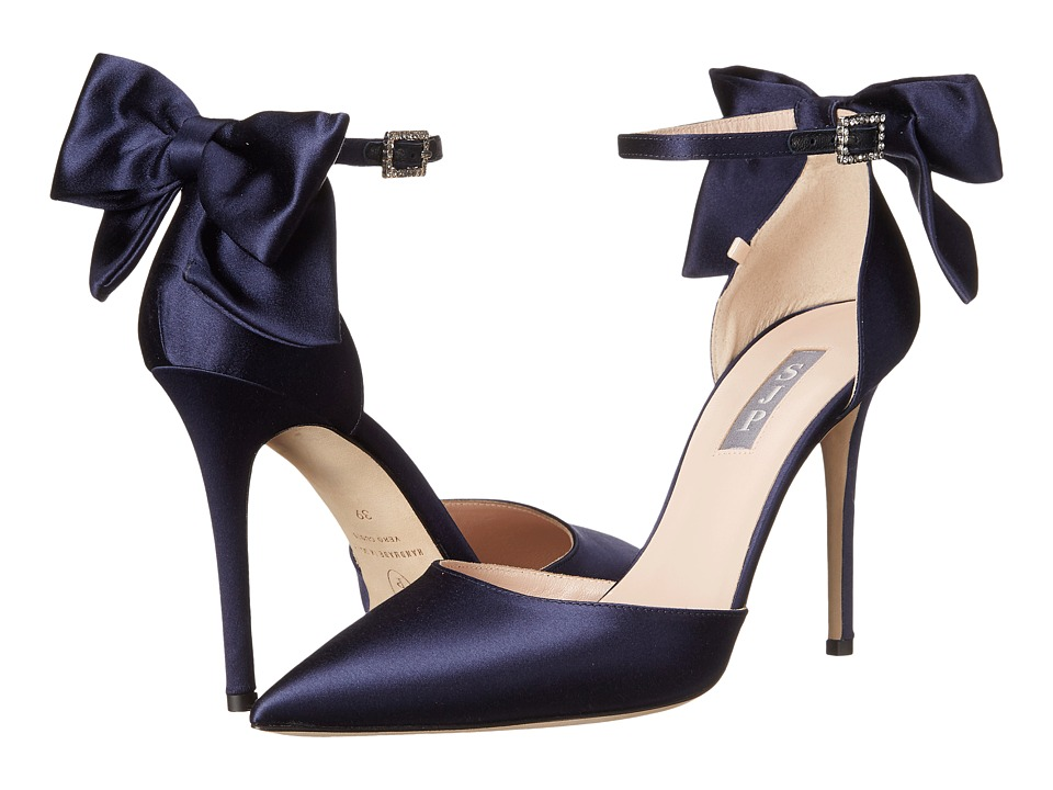 SJP by Sarah Jessica Parker - Trance (Twilight Satin) Women's Shoes