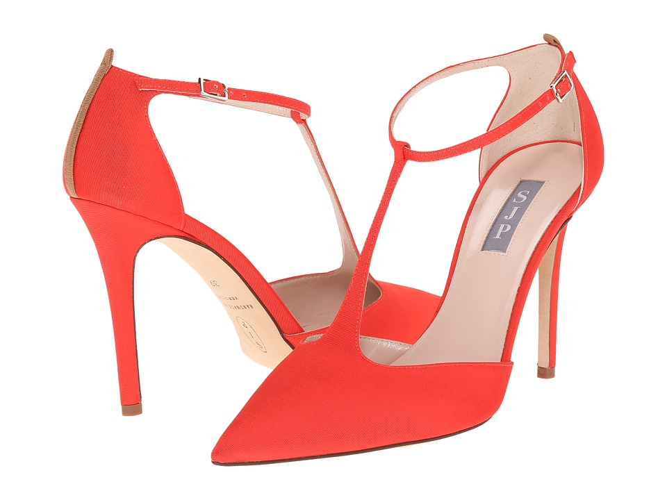 SJP by Sarah Jessica Parker - Taylor (Poppy Grosgrain) Women's Shoes