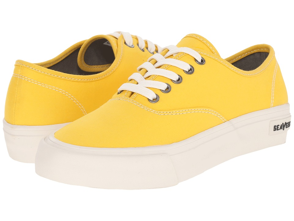 SeaVees - 06/64 Legend Sneaker Standard (Sun Yellow) Women's Shoes