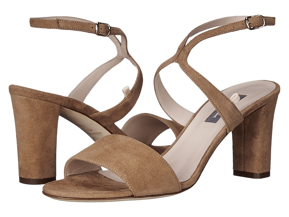 SJP by Sarah Jessica Parker - Harmony (Taffy Suede) Women's Sandals