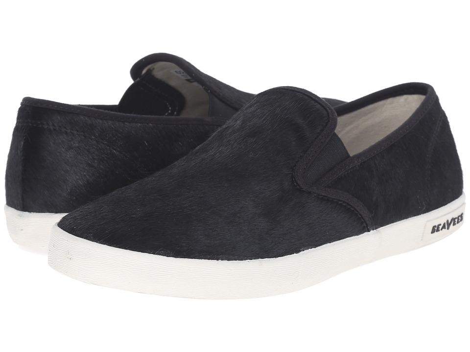 SeaVees - 02/64 Baja Slip-On Hope Ranch (Black) Women's Shoes