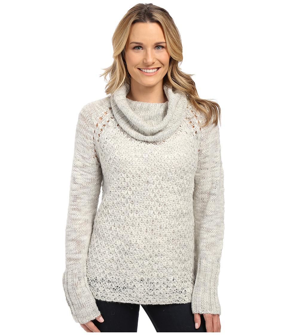 Sanctuary - Cozy Tunic Sweater (Heather Silver) Women