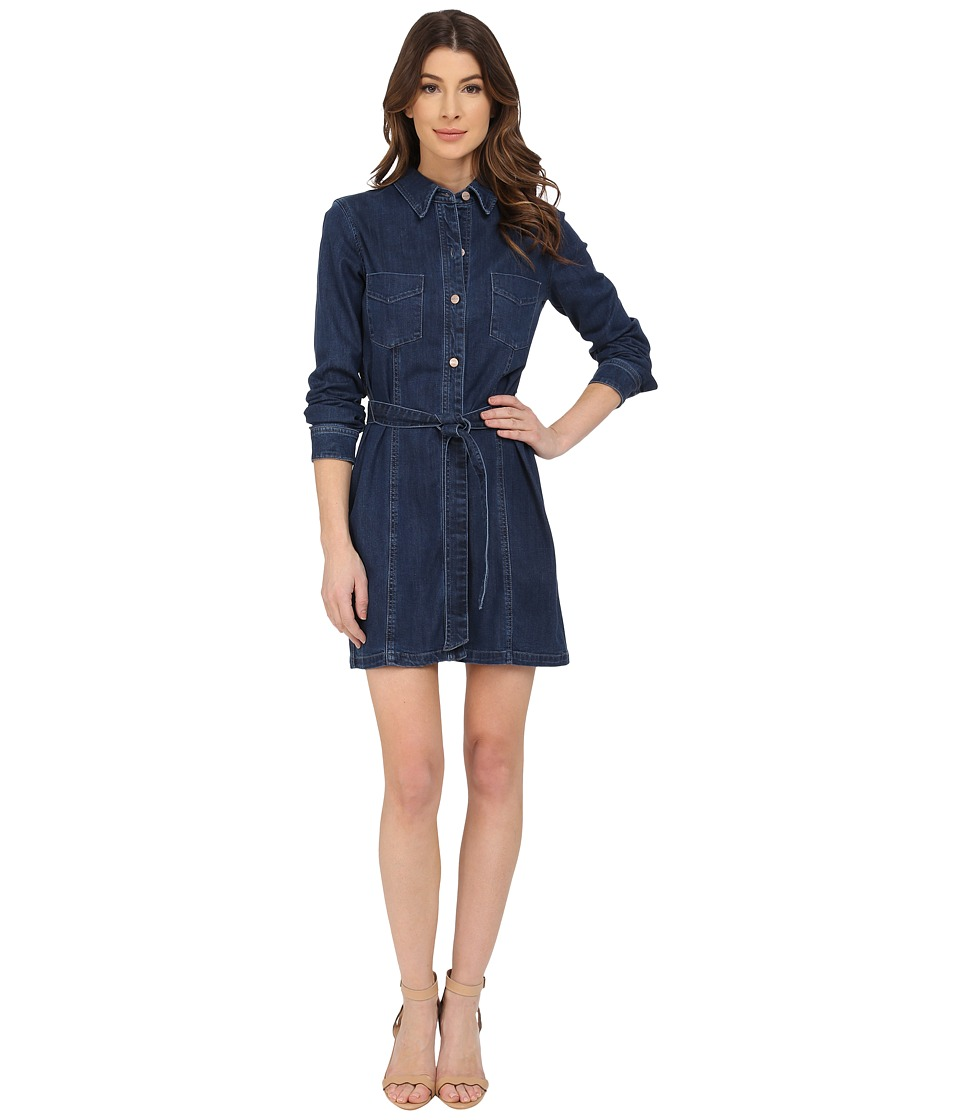 Sanctuary - Denim Lex Dress (Charmed Wash) Women's Dress