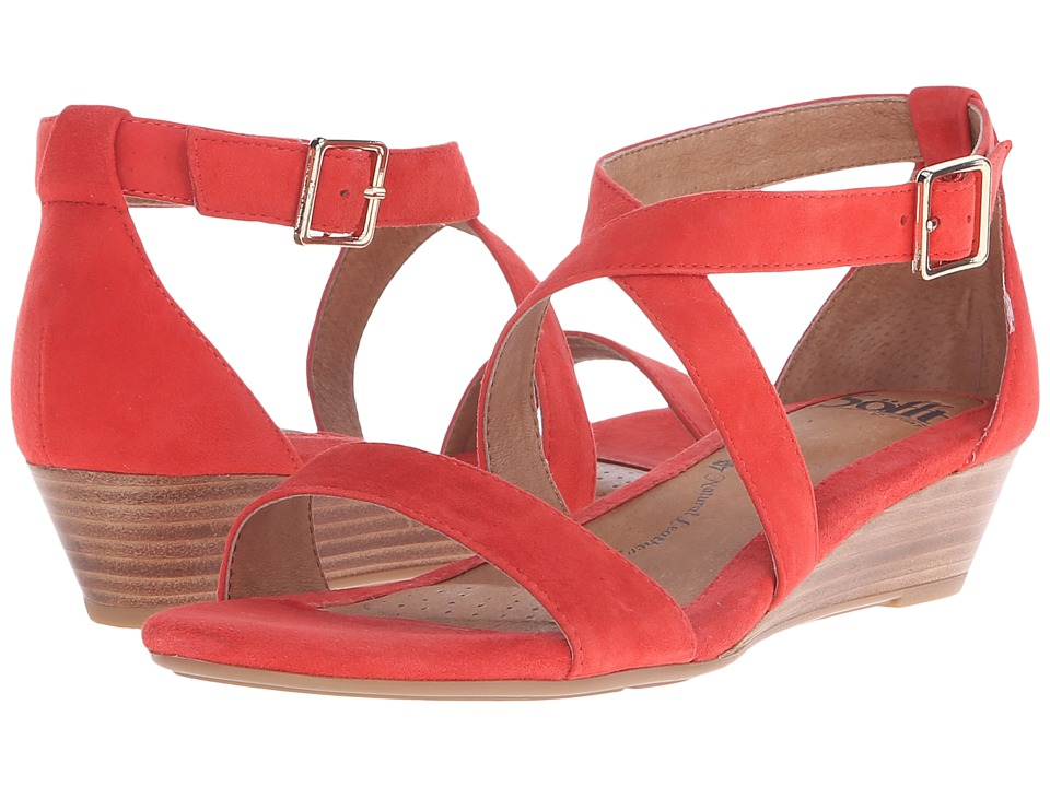 Sofft Innis (Lipstick Red King Suede) Women