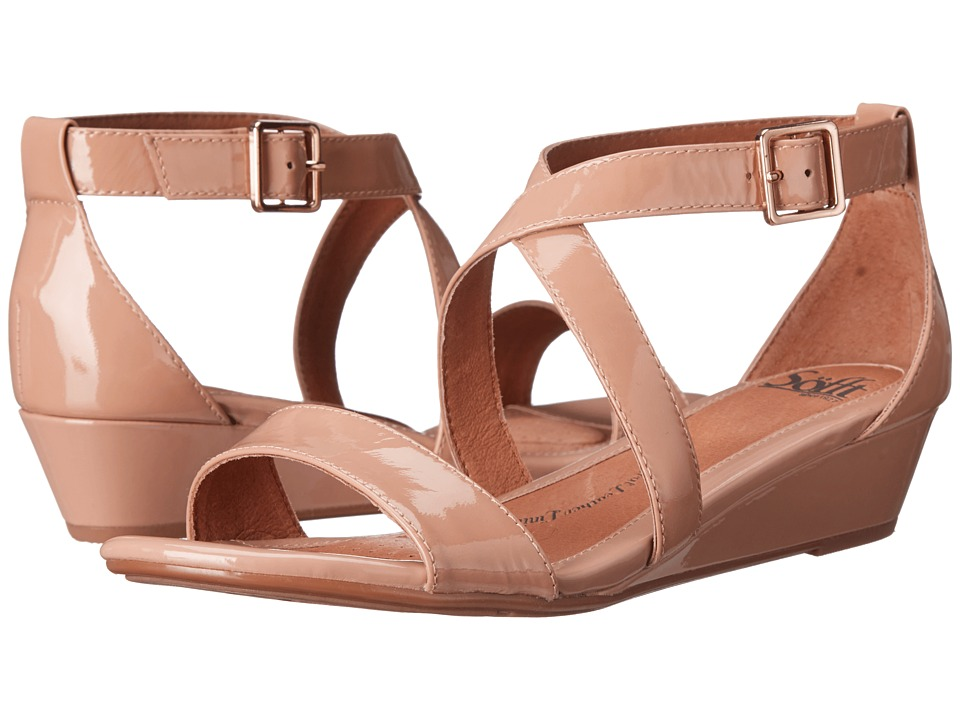 Sofft - Innis (Cashmere Patent) Women's Wedge Shoes
