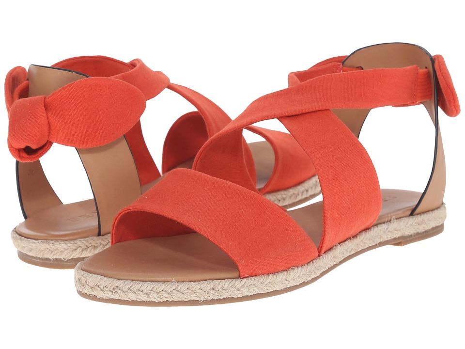 SeaVees 09/65 Bayside Sandal (Dark Coral) Women