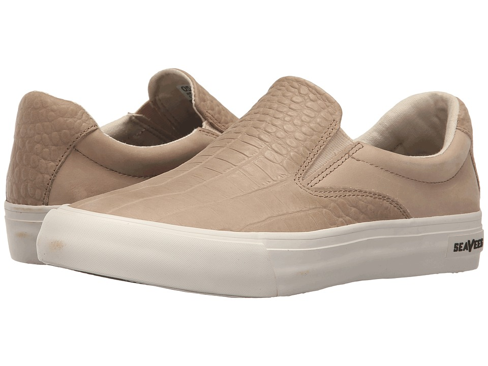 SeaVees - 05/66 Hawthorne Slip-On Clipper Class (Cashew Croc Embossed) Women's Shoes