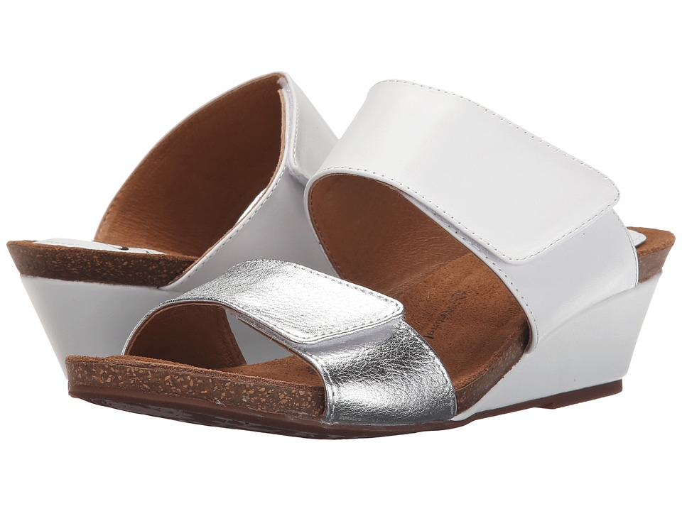 Sofft Vangie (White/Silver Lucky Calf) Women