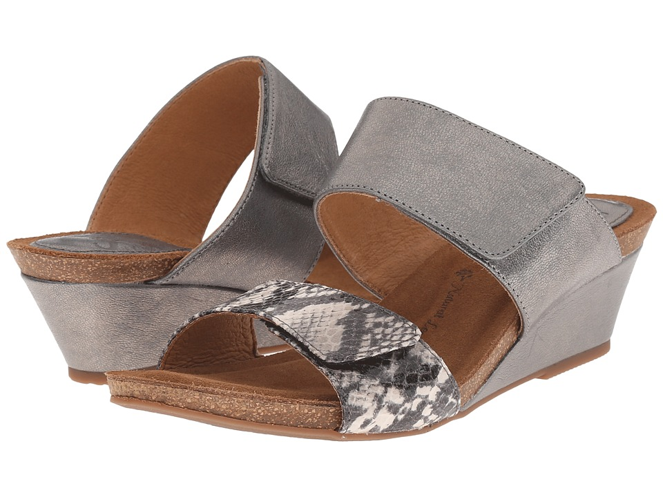 Sofft Vangie (Steel/Grey Grid/Snake Print) Women