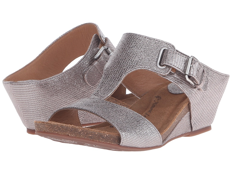 Sofft - Valencia (Silver Atlas) Women's Wedge Shoes
