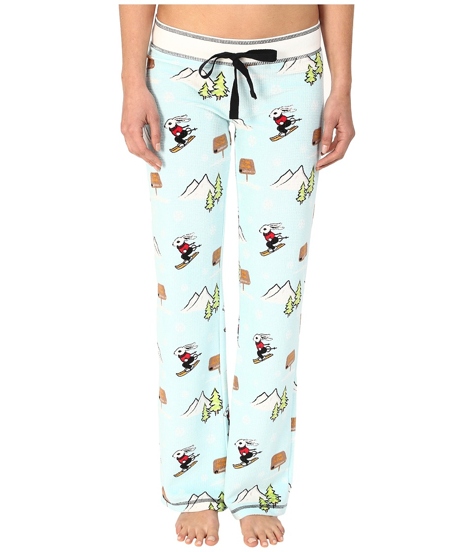 P.J. Salvage - Apres Ski Sleep Pants (Aqua) Women's Pajama