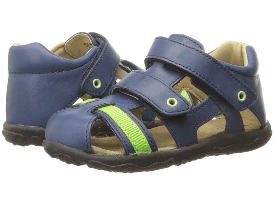 Umi Kids - Mason (Toddler) (Navy Multi) Boys Shoes